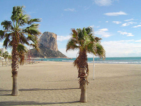 Calpe Tourist information and travel guide of Calpe in Alicante
