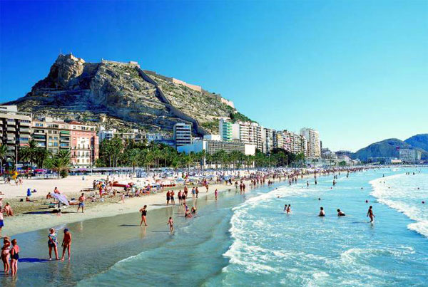 Alicante beaches - Nice things valencia ...